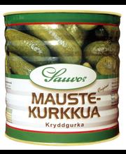 Sauvon 2,9/1,6 kg mausteliemessä kokonaisia kurkkuja