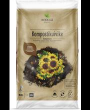 Kekkilä kompostikuivike 50l