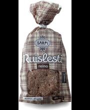 Sarpi Reino ruislesti 6kpl/300g halkaistu makea ruissekaleipä