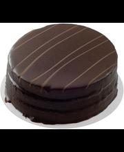 Sarpi Juhla Suklaakakku 580 g suklaa kuorrutettu täytekakku