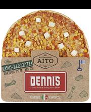 Dennis 370g kasvis-juustopizza