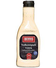 Dennis valkosipulisalaatinkastike 400 ml