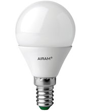 Airam led 6W E14 3-step himmennys