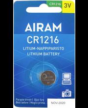 Paristo litium cr12161bl