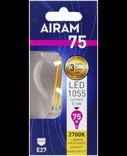 Airam led 8,5W vakio filamentti E27 1055lm 2700K