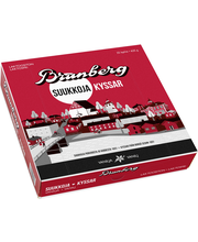 Brunberg 625g vaniljasuukko 25kpl kuorrutettuja vaahtomakeisia