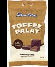 Brunberg 200g Toffeepalat suklaakuorrutettuja toffeepaloja