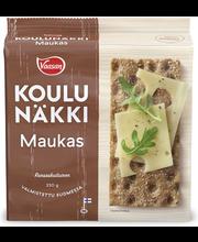 VAASAN KOULUNÄKKI Maukas 230g leseripoteltu täysjyväruisnäkkileipä