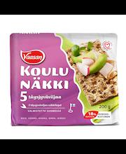 VAASAN KOULUNÄKKI 5 täysjyväviljaa 200 g näkkileipä