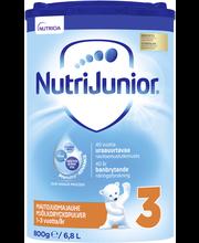 NutriJunior 3 800g maitojuomajauhe leikki-ikäiselle 1-3v