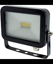 ElectroGEAR led-valonheitin 10 W litteä musta IP44