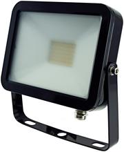 ElectroGEAR led-valonheitin 20 W litteä musta IP44