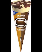 Ingman Iso 152g/300ml toffee-suklaa kermajäätelötuutti
