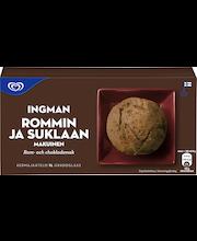 Ingman 1L rommi-suklaa kermajäätelö
