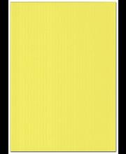 Karto kartonki keltainen 50x70cm 220gsm 5ark/pss