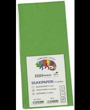 Silkkipaperi Vihreä