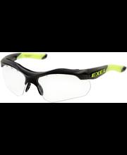 Exel X100 Eye Guard JR black salibandysuojalasi