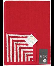 RATIA Käsipyyhe, Puoliraita 50x70 cm