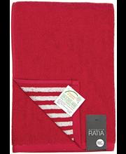 RATIA Kylpypyyhe, Puoliraita 70x140 cm