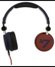 Macs M7 Nightfever sankakuuloke mikrofonilla, tummansininen