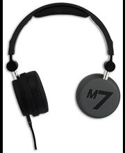 Macs M7 Magneto sankakuuloke mikrofonilla, musta