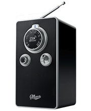 Macs Dino Bluetooth radio musta