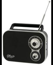 Macs Rico kannettava radio musta
