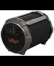Macs Blaster 2.1 Bluetooth kaiutin radiolla ja mikrofonilla