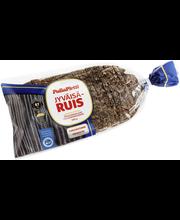 PullaPirtti JyväisäRuis 500g siiv lakton runskuit täysjyväruisleipä