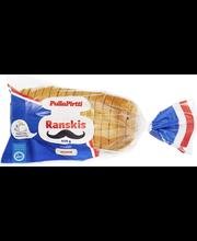 PullaPirtti Ranskis 410g siiv lakton vehnäleipä
