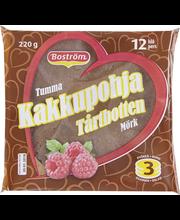E. Boström Tumma Kakkupohja 220 g