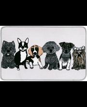 Doggies matto 50x80 cm