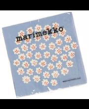 Marimekko Puketti 20kpl vaaleansininen servietti