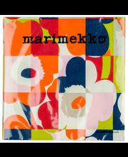 Marimekko Mini-Ruutu-Unikko 20kpl oranssi servietti