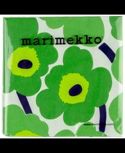 Marimekko Unikko 20kpl vihreä servietti