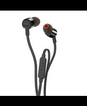 JBL T210 Nappikuuloke mikrofonilla, musta