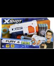 Zuru X-SHOT Excel Fury 4, ase ja 8 ammusta