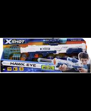 Zuru X-SHOT Excel Hawk Eye ase, 5 tölkkiä ja 12 ammusta