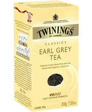 Twinings 200g Earl Grey tea