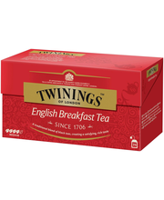 Twinings 25x2g English Breakfast tea