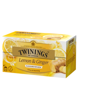 Twinings 25x1,5g Infusions Lemon-ginger
