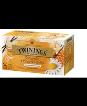 Twinings 25x1,5g Infusions Camomile, honey-vanilla tea