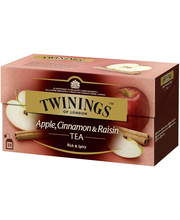 Twinings 25x2g Apple, Cinnamon-Raisin tee