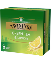 Twinings 50x1,6g Green Tea Lemon