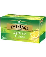 Twinings 25x1,6g Green Tea Lemon