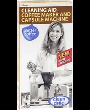 Kahvinkeittimen puhd.aine