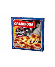 Grandiosa BigOne 590g pan pizza double pepperoni, juustoa ja pepperonimakkaraa