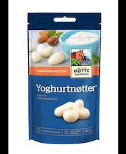 Den Lille Nøttefabrikken 80g Yoghurtnötter pähkinäsekoitus jogurttipäällysteisiä pähkinöitä