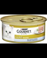 Gourmet 85g Gold Tonnikala Mousse kissanruoka