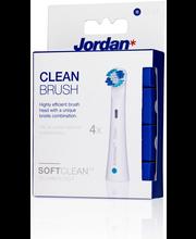 Jordan Clean harjaspäät 4 kpl